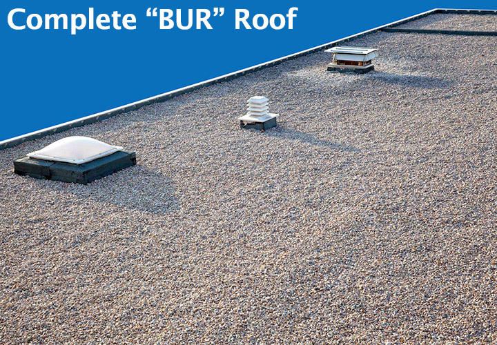 Built Up Roofing Bur Dfw Roofing Corp